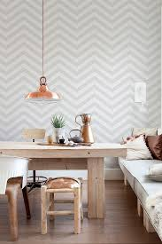 interior wallpaper for home 10 beautiful rooms following the geometric wallpaper trend