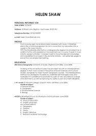 Sample Resume Personal Information by Download Examples Of Good Resumes Haadyaooverbayresort Com