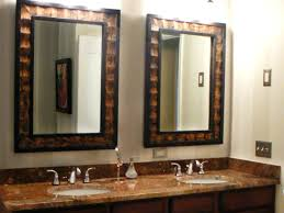 country rustic bathroom ideas ideas rustic mirrors for bathrooms or wood frame mirror bathroom