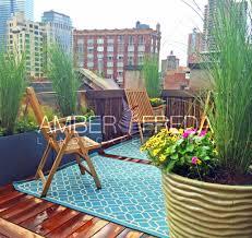 custom nyc roof deck amber freda landscape design