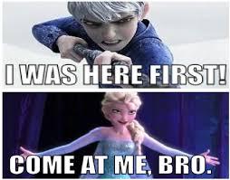 Elsa Memes - jack frost vs elsa in ice battle by newsuperdannyzx on deviantart