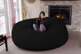 Big Bean Bag Chair by 8 Feet Jumbo Bean Bag Chair For Comfortable Seating Home
