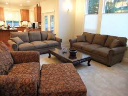 Armchair Ottoman Design Ideas Apartments Foxy Living Room Design Ideas With Brown Sectional