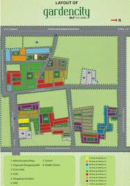 Garden Plot Layout Layout Plan Image Of Dlf Garden City Plot For Sale Proptiger