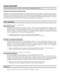 cover letter for financial aid position compudocs us