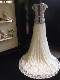 olvis brautkleid stunning low backed ivory olvis lace dress and it s available
