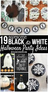 19 awesome black and white halloween decorations u0026 ideas