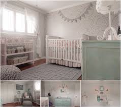 Shabby Chic Baby Room by A Stenciled Shabby Chic Nursery Stencil Stories