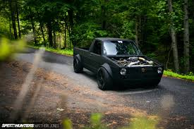 volkswagen rabbit truck 1982 the vw caddy from hell speedhunters