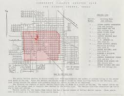 Map Of Waco Texas Community Fallout Shelter Plan Page