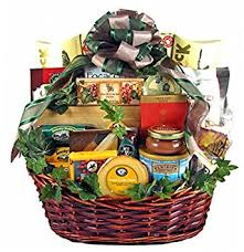christmas food gift baskets therapy premium gourmet food gift basket meat cheese