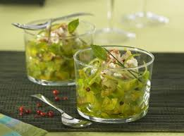 cuisiner les tomates vertes recette de verrines de tomates vertes tigre