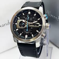 jual jam tangan alexandre christie 6270 silver original