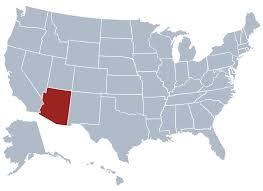 us map arizona state arizona state information symbols capital constitution flags