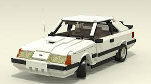1985 mustang svo 1985 ford mustang svo a lego creation by justin davies