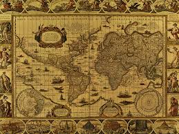 antique map world world map wallpaper pointcard me