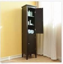 Bathroom Storage Shelves Tall Bathroom Cabinet Ebay