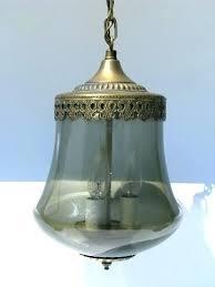 vintage glass pendant light antique glass pendant lights ricardoigea com