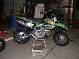 post your pics of your klx110 stock mod bikes