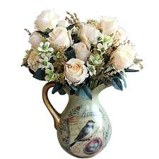 Fake Roses Top 20 Best Artificial Wedding Centerpieces U0026 Bouquets