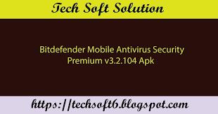 bitdefender premium apk mobile antivirus security premium v3 2 104 apk free