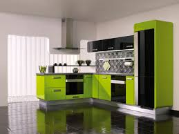 green kitchen ideas green and yellow kitchen ideas with black ceramic floor and white
