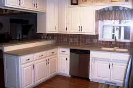 Spraying Kitchen Cabinets White Spray Painting Kitchen Cabinets White Kitchen U0026 Bath Ideas