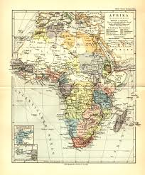 Msu Maps 1892 Africa Including Select Close Ups From Meyers Kleiner Hand