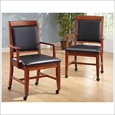 Dining Chairs With Casters Dining Chairs On Casters 280 Caster Chairs With 42 X 60 Table