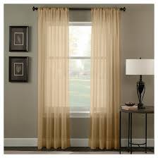 Washing Voile Curtains Curtainworks Trinity Crinkle Voile Curtain Panel Target