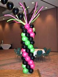 balloon delivery chicago 80s balloon decorations decoraciones de