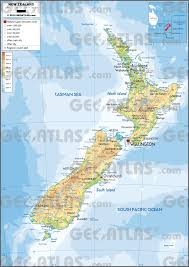 zealand on map geoatlas countries zealand map city illustrator fully