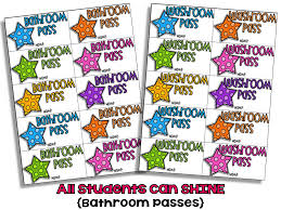 bathroom pass ideas bathroom passes all students can shine bathroom pass in bathroom