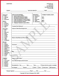 Writing Counselling Session Notes 13 Best Progress Notes Images On Notes Template