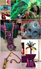 carnival wedding theme fantastical wedding stylings