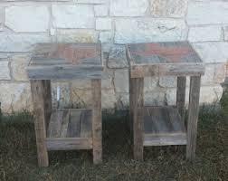 Rustic Texas Home Decor Nursery Side Table Etsy