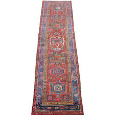 Turquoise Persian Rug Persian Heriz Narrow Runner Oriental Rug Heriz District From