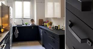 cuisiniste royan meuble de cuisine noir delinia mat edition leroy merlin julien