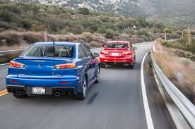 mitsubishi lancer the end of a rivalry mitsubishi lancer evolution mr and subaru