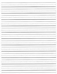 Printable Lined Paper Grade 2 | free printable lined writing paper free lined writing paper for