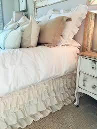 Detachable Bed Skirts Bedroom Linen Bed Skirt Bedskirt Split Corner Bedskirt For Split