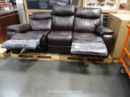 Motion Leather Sofa Costco Fabric Reclining Sofa Home Furniture Decoration