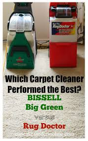 Doctor Rug In A Side By Side Comparison Which Carpet Cleaner Performed The