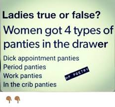 Panties In A Bunch Meme - 25 best memes about period panties period panties memes