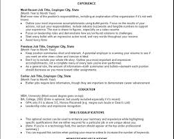 How To Make Experience Resume How To Make A Resume For Nanny Job Resume Format That You Can