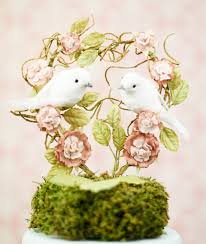 birds wedding cake toppers diy and customisable wedding cake toppers bird wedding cakes