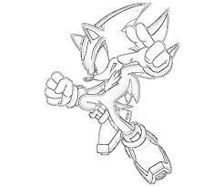 shadow hedgehog coloring pages print laura williams