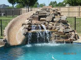 grotto cave with tile slide king pools inc