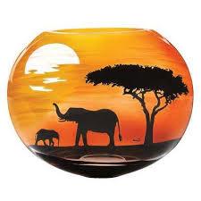 African Vases Sphere Vases Vases U0026 Decorative Bottles The Home Depot