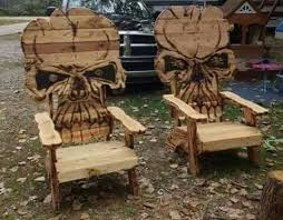 Wooden Skull Chair Wooden Skull Chair 28 Images Starting To Build A Skull Chair